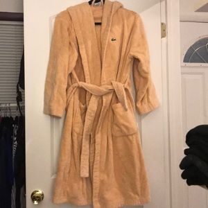 Lacoste Terry cloth robe